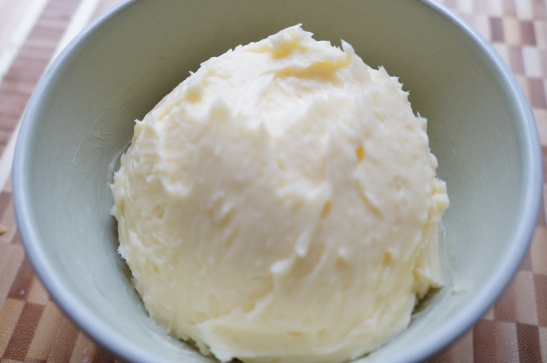 butter finished in bowl