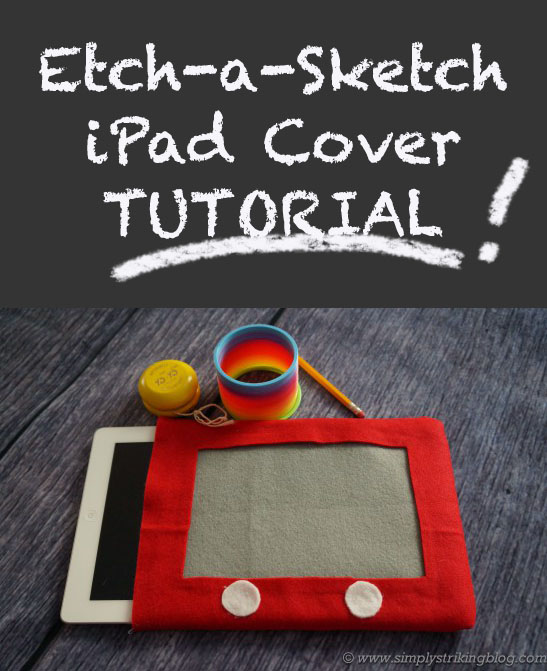 etch a sketch ipad cover