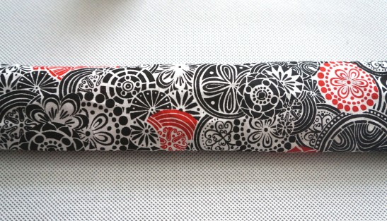 necklace fabric tube