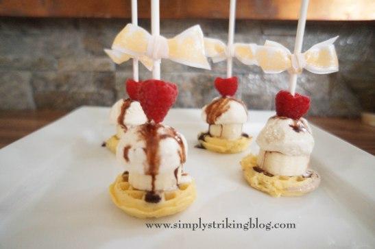 ice cream sundeas