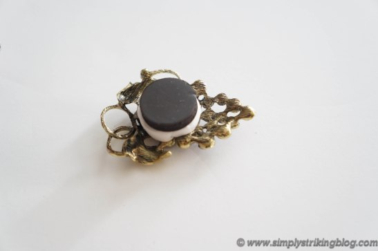 magnet glue to brooch
