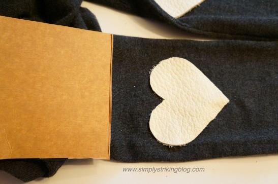 patch insert cardboard