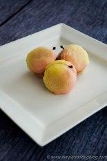 pesche Italian peach cookies