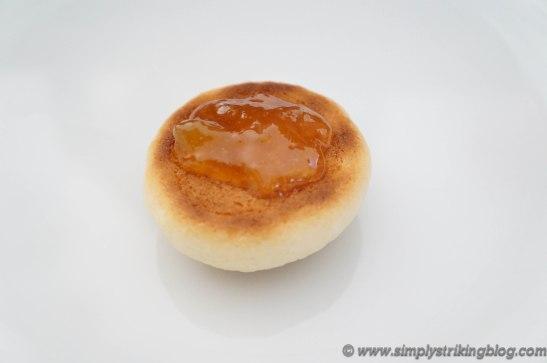 peach cookies half