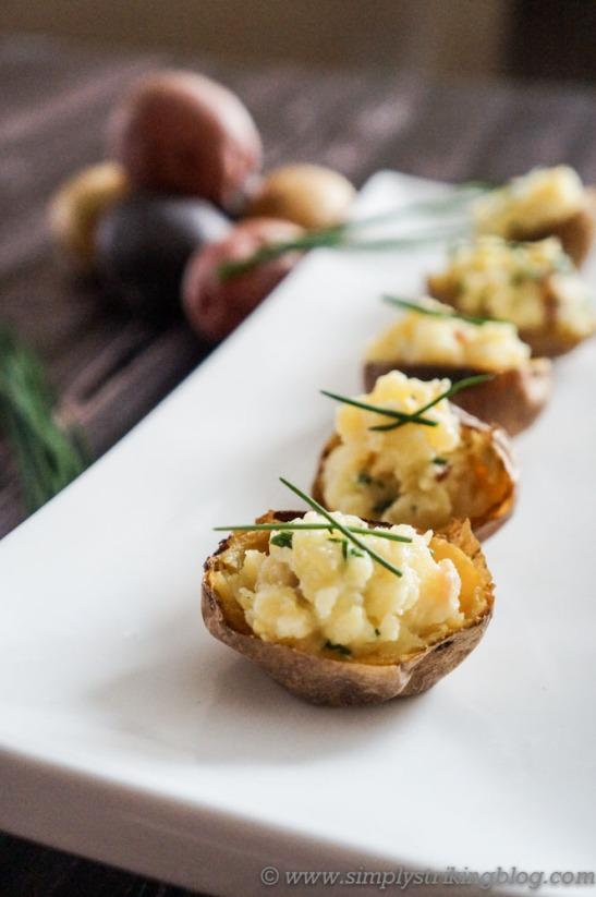 baked potatoes finished