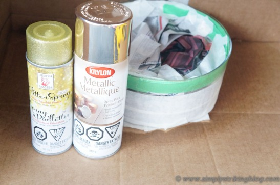 glass bowl paints used