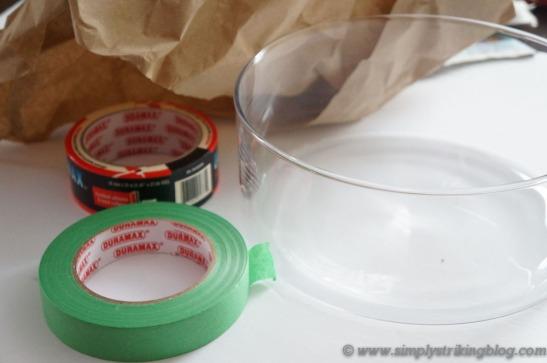 glass bowl supplies