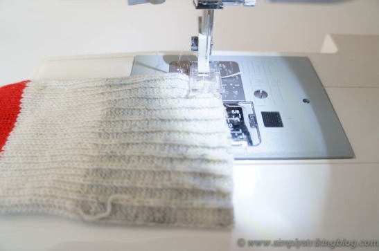 hand warmers sew seam
