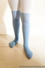 DIY ombre tights