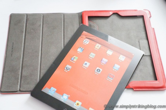 organizer iPad case