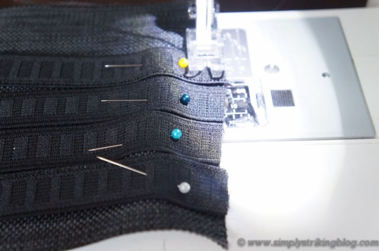 organizer sewing elastics
