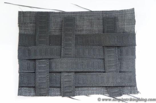 organizer weaving elastics
