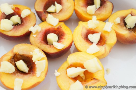 peaches buttered