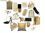 Gold fashion and decor ideas
