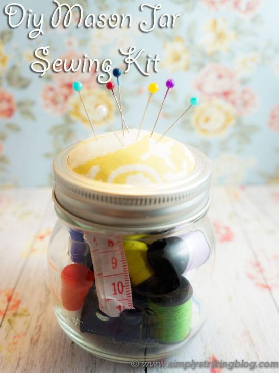 mason jar sewing kit tutorial
