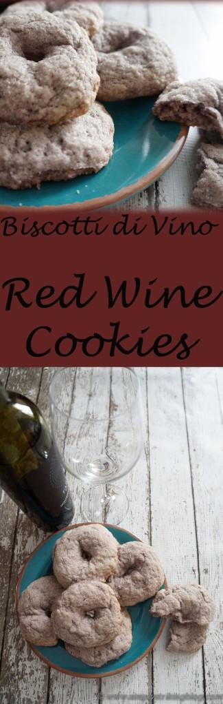 biscotti di vino wine cookies