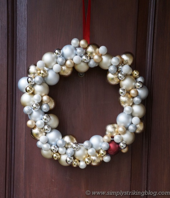 wreath finished