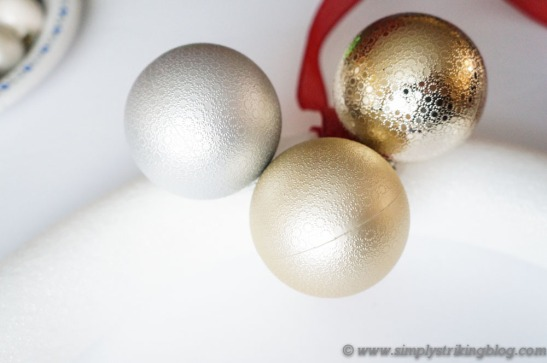 wreath glue balls