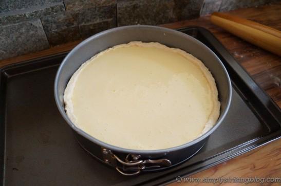 buttermilk tart filling